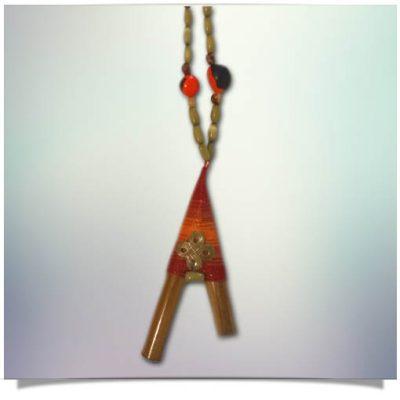 Kuripie Necklace Premium_Red